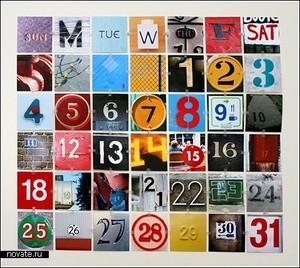 Как сделать календарь с фото своими руками