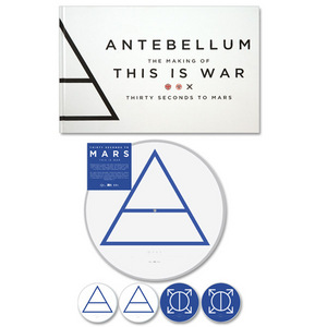 This Is War Picture Disc / Book Bundle