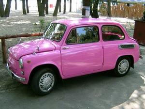 запорожец розовый фото