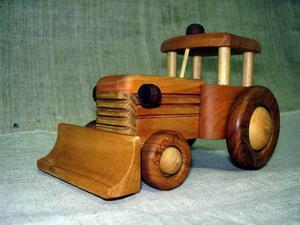 WISHLIST.RU Трактор игрушечный