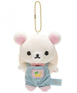 Korilakkuma Lemon Hanging Plush