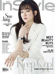 Korean magazine Instyle