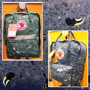 "Fjallraven Kanken Art  Laptop 15"" Cecilia Heikkila ""Blue Fable"""