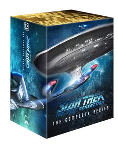 Star Trek: The Next Generation - The Complete Series на Blu-ray