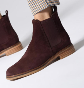 Clarks Arlo Ankle Boots - weinrot
