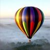 flight on a balloon