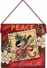 8848C Peace Ornament (Dimensions)