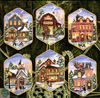 Dimensions 08785-Christmas Village ornament