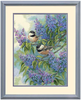 35258 Chickadees and Lilacs Dimensions