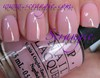 OPI in the spot light pink
