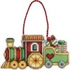 Dimensions_Train Counted Cross Stitch Ornament_70-08897_Новинка 2012г
