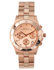 Marc by Marc Jacobs Rose Gold Chronograph Watch With Crystal Detail