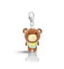 Подвеска-медведик серебро 925