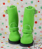 ☆╮Cool Cat╭☆【10-13】Blythe Pullip Doll Shoes Boots # Apple Green