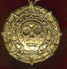 Pirates of The Caribbean Aztec Curse Coin necklace replica