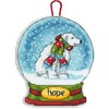 Dimensions  HOPE SNOW GLOBE ORNAMENT