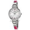 Fossil Georgia Three Hand Stainless Steel And Leather Watch - Pink Es3258