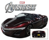 Avengers 2012 Movie Acura NSX Roadster 2012 Tony Stark Iron Man Model