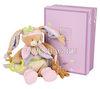 """Развивающая игрушка для новорожденного """"Lapin Lila"""", 30 см, со звуками, с погремушкой (подарочная коробка)"""