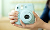 polaroid fujifilm instax mini 8 blue