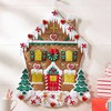 Nordic Gingerbread House Christmas Advent Calendar