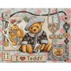 "Classic Design ""I love Teddy"""