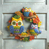 Owls Wreath Bucilla 8656