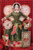 Brooke's Books Spirit of Christmas Stitching Angel Ornament