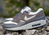 NIKE AIR MAX 1 ESSENTIAL – WOLF GREY – DARK GREY