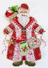 Brooke's Books Publishing - Spirit Of Christmas Stitching Santa