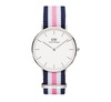 Daniel Wellington watches silver NATO band