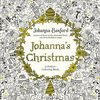 Johanna Basford Christmas coloring book