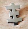 Psychik Cross Steel Pin