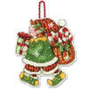 Elf Counted Cross Stitch Ornament