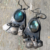 Labradorite Gypsy Earrings