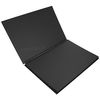 Goldline A3 Large  Spiral Sketch Book Black