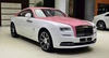 rolls-royce bespoke wraith in blushing pink and arctic white