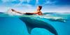 хочу поплавать с дельфинамимими :)
