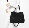 Michael Kors Mercer Gallery Large Leather Satchel