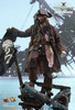 Jack Sparrow Dead Men Tell No Tales 1:6 Scale Figures