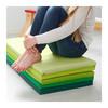 ПЛУФСИГ Складной гимнастический коврик, зеленый - 2 шт
