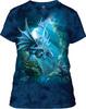 Женская драконья футболка mountain M
