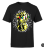 MARVEL AVENGERS INFINITY WAR FIST COMIC T-SHIRT