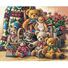 Dimensions Teddy Bear Counted Cross Stitch Kit