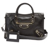 BALENCIAGA  Metallic Edge City bag