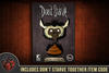 Don't Starve: Beefalo & Poop Pin Set
