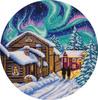 """Набор для вышивания """"PANNA"""" PS-1977 ( ПС-1977 ) """"Северная зима"""""""