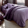 Pale purple bedlinen