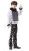 Mattel- BTS Suga Bambola da Collezione Prestige, 28 cm, GKD00
