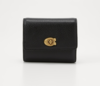 Coach Polished Turnlock Small Wallet